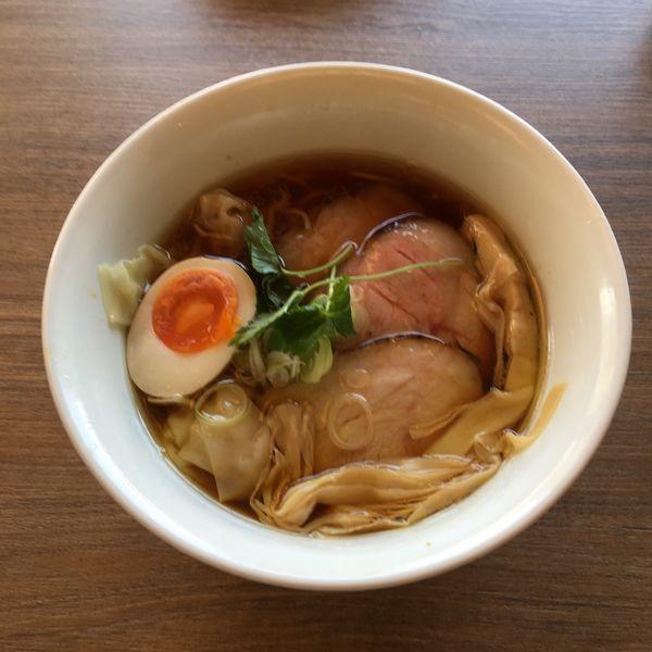 「特製醤油ラーメン」@中華そば 和渦 TOKYOの写真
