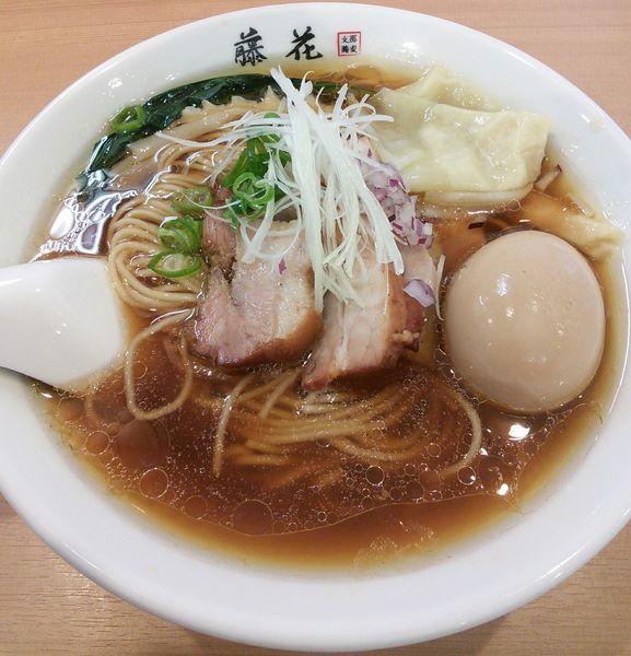 「特製らぁ麺(醤油) 980円」@支那蕎麦屋 藤花の写真