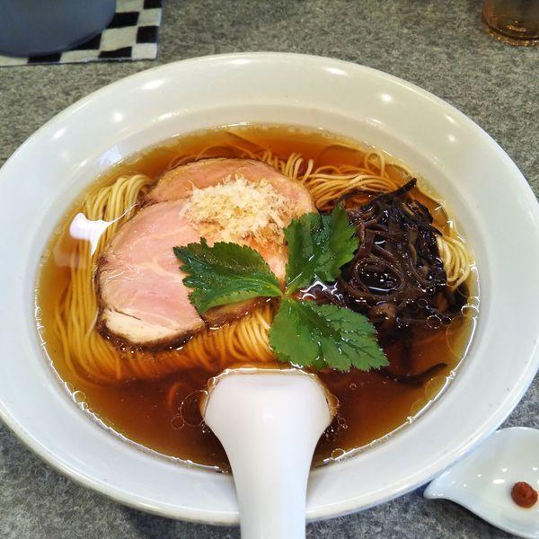「川越醤油」@麺屋 MANIの写真