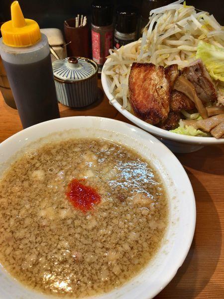 「小半つけ麺(大盛)」@つけめん小半の写真