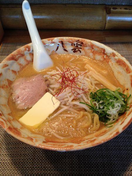 「バターラーメン 味噌 900円」@麺匠 八雲 大和店の写真