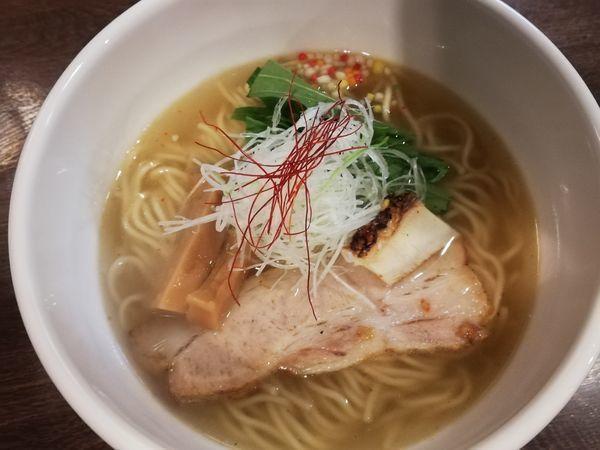 「真鯛 塩らぁ麺 寿」@らぁ麺BAR 錦 iwamotoの写真