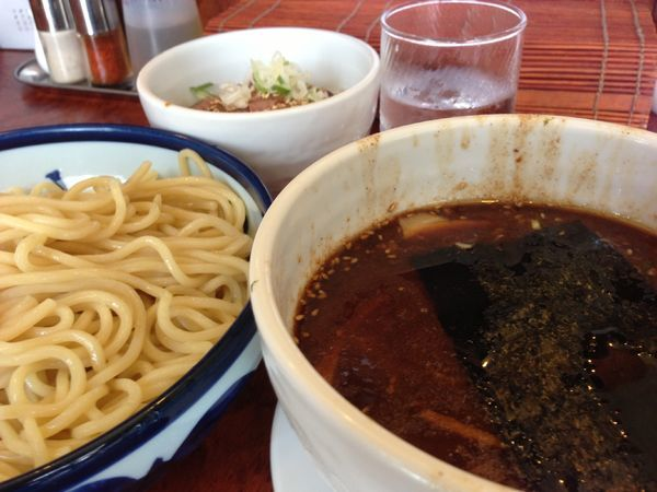 「冷つけ麺」@つけ麺 目黒屋の写真