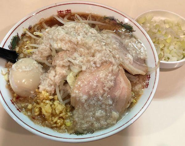 「塩旨辛(3/5/6¥760)+ネギ(¥100)」@麺家ぶんすけの写真