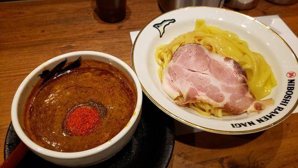 「辛い煮干しつけ麺(並) 950円」@NIBOSHI TSUKEMEN 凪 大宮南銀通り店の写真