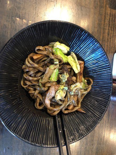 「和え玉(やきそば)」@燵家製麺の写真