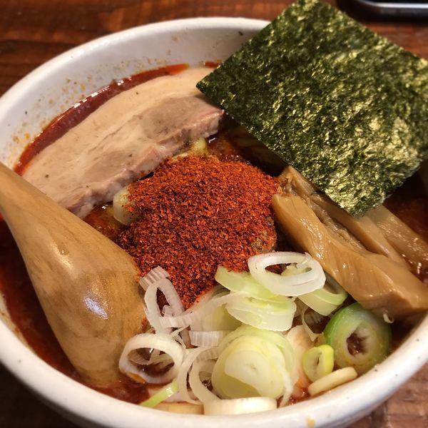 「辛辛魚らーめん」@麺処 井の庄 立川店の写真