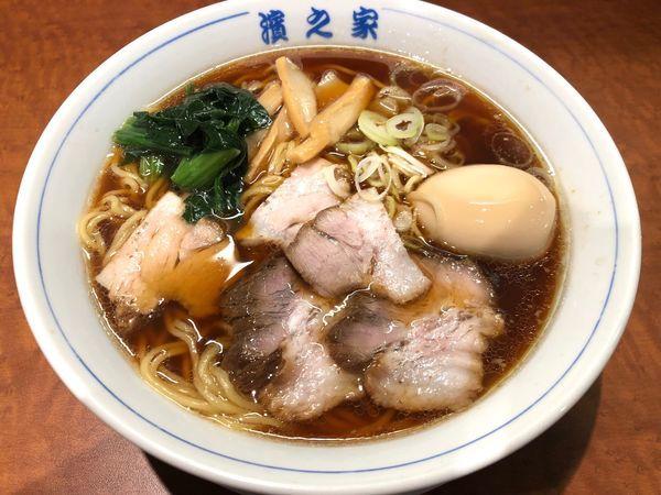 「生姜醤油ラーメン」@根津 濱之家の写真