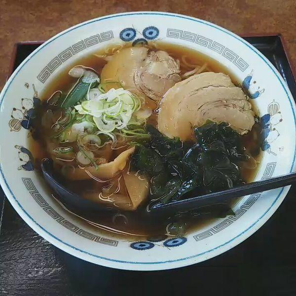 「しょうゆラーメン」@山田うどん中宗岡店の写真