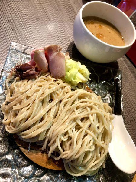 「【気まぐれ限定】豚と海老のつけそば ¥1000」@柳麺 呉田-goden-の写真