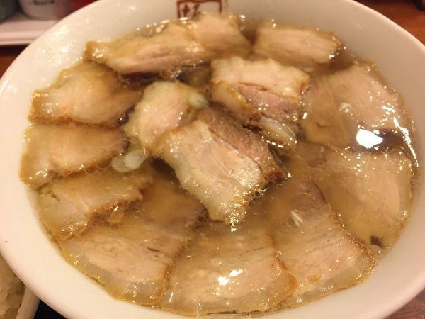 「チャーシュー麺」@喜多方 坂内食堂 京都店の写真