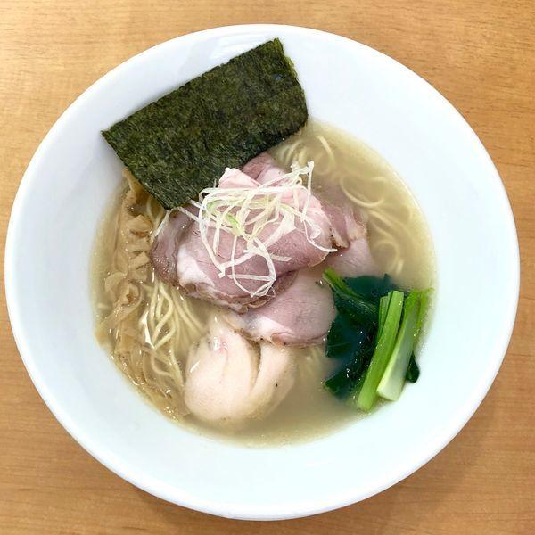 「貝の潮そば」@麺屋BISQの写真