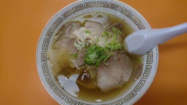 「チャーシュー麺  700円」@ふく龍の写真