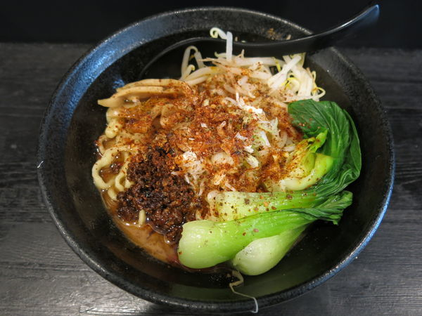 「汁なし担々麺:750円」@麺屋 笹苑の写真
