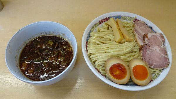 「甘い辛い酸っぱいつけ麺:大(980円)+特製トッピング」@煮干鰮らーめん 圓の写真