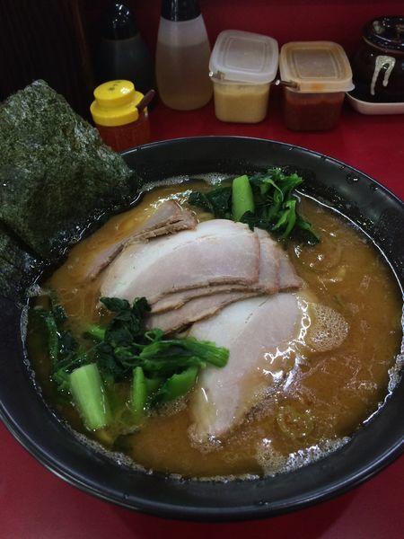 「チャーシュー麺(大)1020円青菜増し80円」@杉田家 千葉店の写真