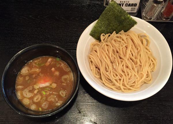 「つけ麺790円」@大勝軒 まるいち 新宿店の写真