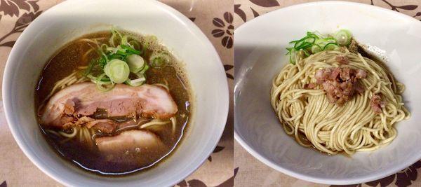「煮干そば & 和え玉」@小烏丸 ramen-laboの写真