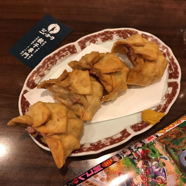 「揚餃子 3個」@餃子のニューヨークの写真
