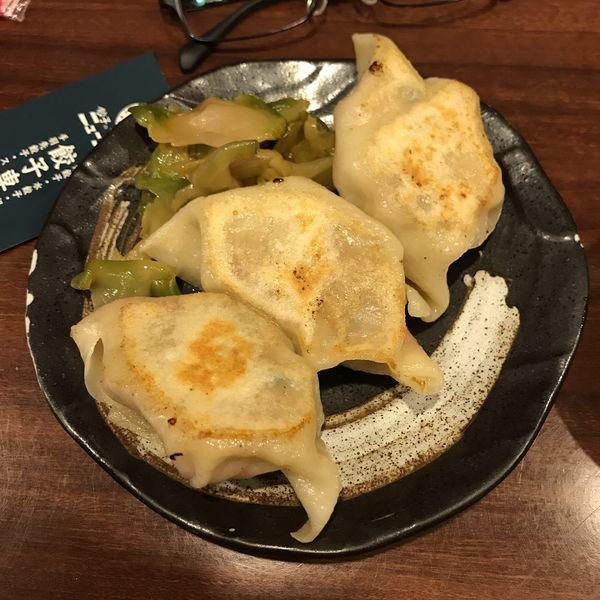 「激辛餃子(焼) 3個」@餃子のニューヨークの写真
