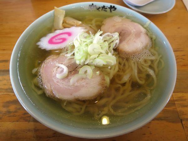 「ラーメン 600円 ※麺硬め」@拉麺 かくだやの写真