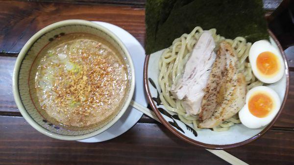 「特製つけ麺(背脂)」@ラーメン無限大 船橋店の写真