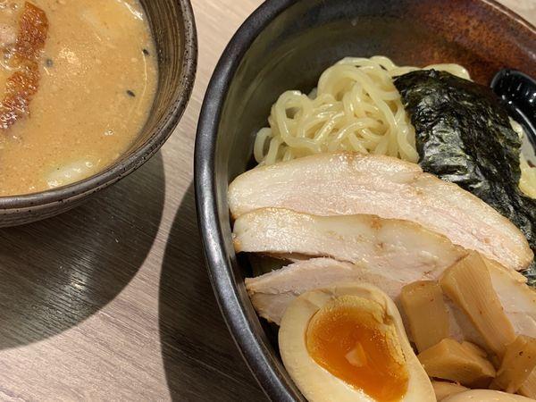 「味噌だれつけ麺」@北海道らーめん ひむろ 池袋店の写真