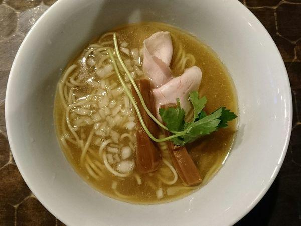 「煮干そば」@特級鶏蕎麦 龍介の写真