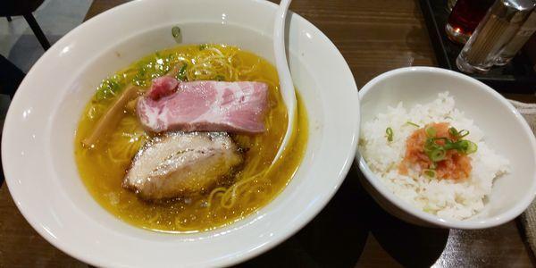「塩らぁ麺¥790」@麺処 青野の写真