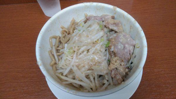 「油そば750円」@麺や 希 御徒町店の写真
