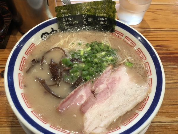 「ラーメン」@博多長浜らーめん 田中商店の写真