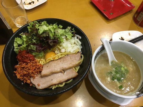 「濃厚つけ麺・辛玉」@麺屋 扇 SENの写真