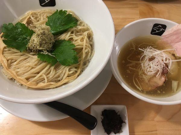 「一周年 塩つけ蕎麦」@中華そば 髙野の写真