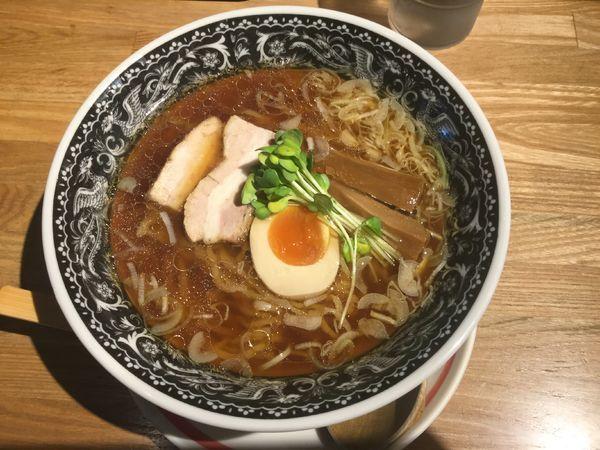 「【限定・ひるめん】鶏ガラスープの中華そば(¥750)」@麺肴 ひづきの写真