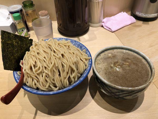 「濃厚煮干つけ麺(男盛)」@麺屋 狢〜むじな〜の写真