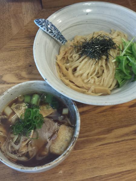 「肉汁つけそば880円」@中華そば きなりの写真
