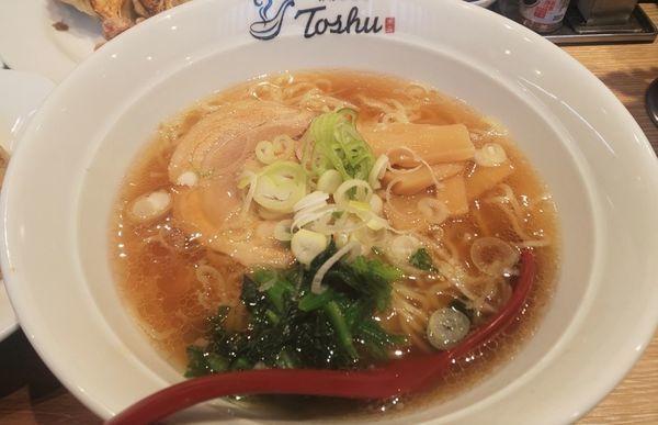 「醤油ラーメン(ランチフルセット)」@れんげ食堂 Toshu 船堀店の写真