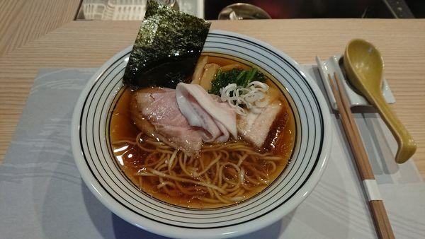 「中華蕎麦 800円」@中華蕎麦 ほし乃の写真