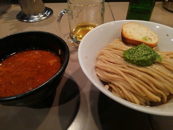 「海老トマトつけ麺」@つけ麺 五ノ神製作所の写真