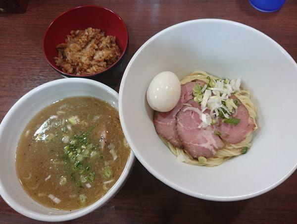 「特製壱富士つけ麺(背脂煮干)」@ONLY ONE NOODLE 壱富士の写真