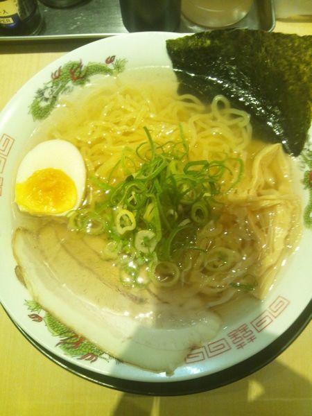 「中華そば(塩)」@麺家 えびすの写真