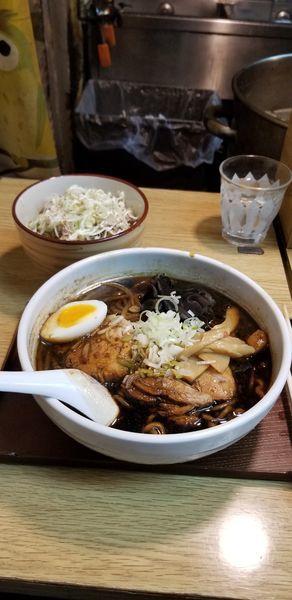 「札幌ブラック、しょうが、かづおごはん」@いそのかづおの写真