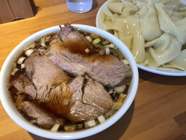 「つけ麺(凄平麺)チャーシュー ¥1150」@らぁめん りきどうの写真
