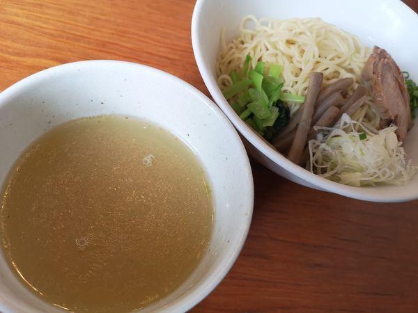 「鶏清湯のつけめん」@なかじゅう亭 高崎上豊岡店の写真