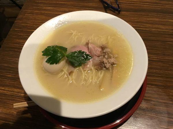 「【限定】鶏鯛湯」@だし廊の写真