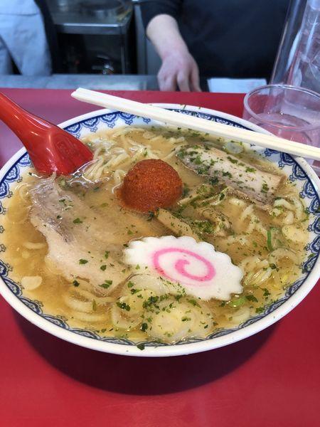 「赤湯からみそラーメン」@龍上海 米沢店の写真