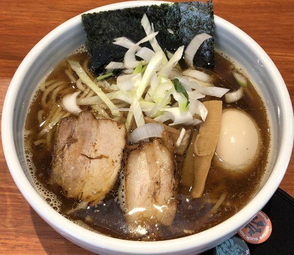 「味玉江戸醤油らー麺(¥850)」@麺屋 江武里の写真
