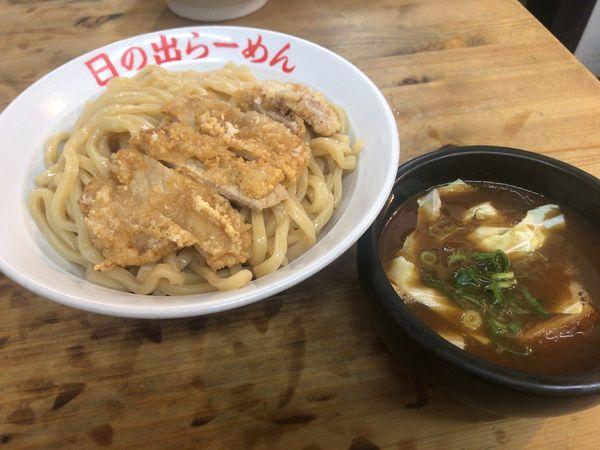 「パーコー剛つけ麺」@日の出らーめん 横浜桜木町本店の写真