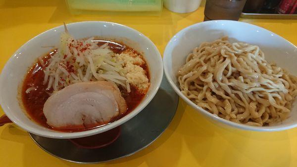 「旨辛つけ麺中300g ニンニクマシマシ」@ラーメン ヒカリの写真