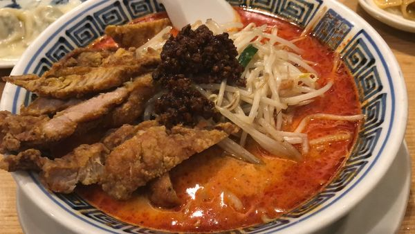 「排骨担々麺」@希須林 赤坂店の写真